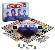 Supernatural Monopoly Collector's Edition Board Game by USAopoly