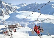 B47878 Arosa Sesselbahn Bruggerhorn teleski cable train sky  switzerland