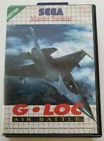 G-LOC Air Battle - Sega Master System Game