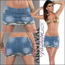 Denim Mini Skirts for Women