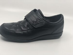 Dr Scholls Black Quilted Oxford Advanced Comfort  Shoes Women Size 6M E68-01