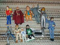 Random toy lot Dr who flintstones Austin powers jurassic park