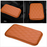 Car Leather Armrest Pad Cover Center Console Box Leather Cushion Armrests Pads