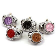 Bling Luxury Ladies Watch Fashion Women Key Ring Finger Watches Quartz Watch