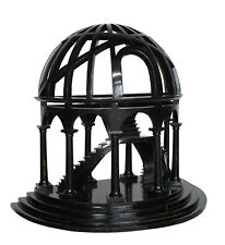 "Black Demi-Dome Architectural 3D Wooden Model 16"" x 18"" Dome Authentic Models"