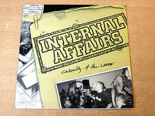 "EX/EX !! Internal Affairs/Casualty Of The Core/2003 Malfuntion 7"" Single EP/Punk"