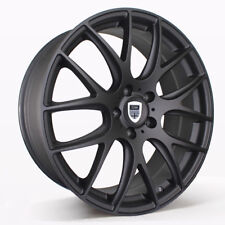 4X 19 INCH MATT BLACK Wheels suits Commodore,BMW3, Falcon & MORE