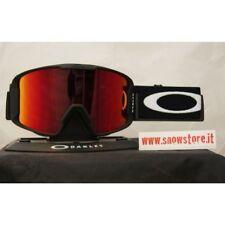 OAKLEY LINE MINER MATTE BLACK PRIZM TORCH IRIDIUM MASCHERA SKI SNOWBOARD GOGGLES