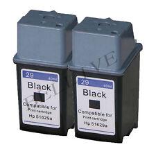 2 CARTUCCE RIGENERATO COMPATIBILE PER HP 29 / 51629AE DeskJet 600  600C  660C