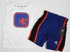 New AND 1 Boys Authletic Basketball Tank Top Shirt Shorts Outfit Set 12 18 24 Mo