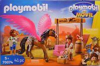 Playmobil The Movie 70074 Marla Del Pegasus Perd mit Flügel 4x Zaun Fass Heu NEU