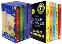 Maze Runner & 13th Reality 9 Books Collection Set James Dashner The Fever Code