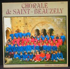Chorale de Saint-Beauzély Georges Alibert dédicacé LP NM -, CV NM