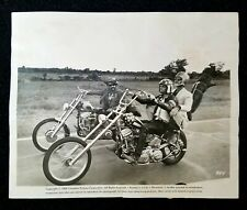 1969 Easy Rider Fonda Hopper Nicholson Original Type 1 Promotional Wire Photo