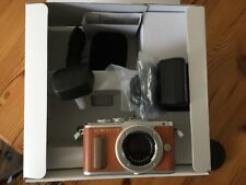 Olympus PEN E-PL8 16.1MP Micro 4/3 Digital Camera - Tan (Body Only) And Halfcase