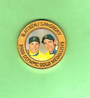 SYDNEY 2000 OLYMPIC MADDISON CYCLING  MEDAL -  B. AITKEN & S. McGRORY