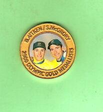 SYDNEY 2000 OLYMPIC MADDISON CYCLING  MEDAL -  B. AITKEN & S. McGRORY