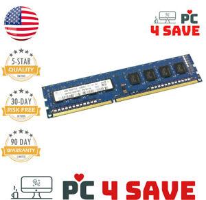 Desktop Memory - SK Hynix DDR3 4GB 1Rx8 PC3-12800U Module 1600MHz Dell HP Lenovo