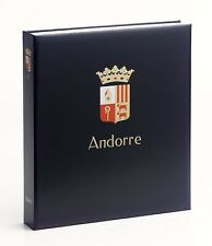 DAVO LUXE ALBUM ANDORRA SPANISCH I 1928-2018 NEW !!