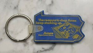 Vintage Ames Department Store Keychain Pennsylvania