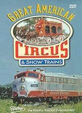 Great American Circus and Show Trains - Pentrex  DVD LN