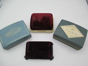 Vintage Lot (4) Bulova Watch Boxes