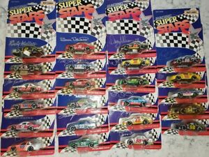 VINTAGE Lot of 25 Matchbox Racing Superstars 1/64 scales from 1992