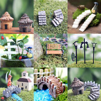 Lot  Miniature Fairy Garden Ornament Decor Pot DIY Craft Accessories Dollhouse