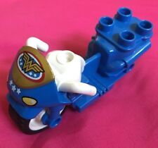 Lego Duplo DC Comics Wonder Woman Bike Motorcycle