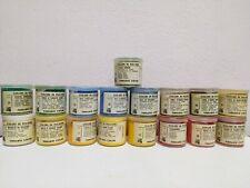 colori in polvere OSSIDI, TERRE,  PIGMENTI - VARI COLORI - 50 ml ferrario
