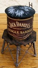 HO Custom Built & Detailed-WALTHERS-JACK DANIEL'S~WATER TOWER BUILDING~NICE!