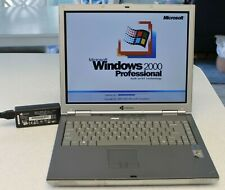 Vintage Gateway Windows 2000 Laptop,60GB HD,1GB RAM,Factory Charger,DVD/CDRW