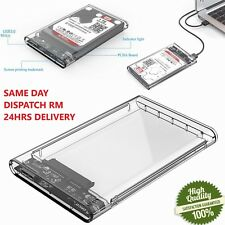 "2.5"" USB 3.0 SATA3 5gbps Hard Drive Enclosure Caddy Case FOR External HDD/SSD"