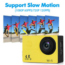 Action Cam 4K 30fps 16MP 170° WIFI Slow Motion Waterproof 40M  Sports Camera