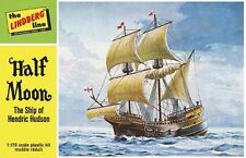 Lindberg [LND] 1:170 Half Moon Sailing Ship Plastic Model Kit 208 LND208