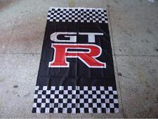 Car Racing Flag Banner for nissan gtr Flag 3x5 FT- FREE SHIPPING!