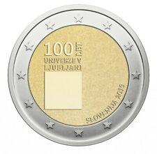 Pièce commemorative 2 euros Slovénie 2019 célébrant l'université de Ljubljana