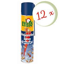 Sparset: 12 x FRUNOL DELICIA® Etisso® Ungeziefer-Spray, 400 ml - auch gegen Wesp