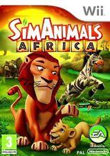 SIMANIMALS  AFRICA      -----   pour WII