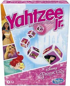 Yahtzee Jr. Disney Princess Edition Board Game For Kids Ages 4 +