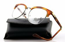 New Authentic PERSOL Vintage FOLDING Terra di Siena Eye Glass Frame PO 3132-V 96