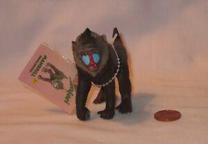Wild Animal Mandrill (Papio Sphinx) PVC Figure; By Safari 1994
