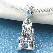 Charm colgante en plata de ley Castillo Real s925 autentica plata