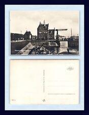 NETHERLANDS ZAANDAM HAVENMEESTERKANTOOR S. FINSY REAL PHOTO CIRC 1925