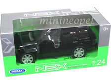 WELLY 22415 2003 RANGE ROVER SUV 1/24 DIECAST MODEL CAR BLACK