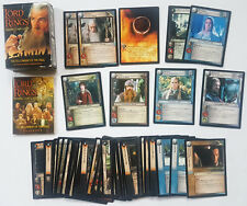 2001 LORD OF THE RINGS TCG ASSTD LOT OF 60 TRADING CARDS GANDALF FRODO LEGOLAS