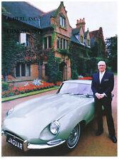 Jaguar E-Type / Jaguar XK-E & Jaguar founder William Lyons 1969 – photo