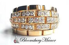 Cartier Yellow Gold 18 Carat Fine Diamond Rings