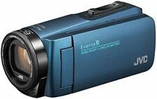 JVC GZ-R480-A Blue Everio R High Resolution 32GB Video Camera 4975769452376