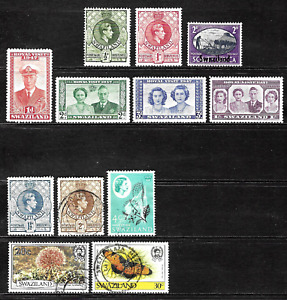 Swaziland .. Good stamps .. 4442